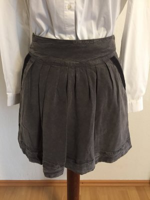 Woolrich Mini-jupe gris anthracite-noir