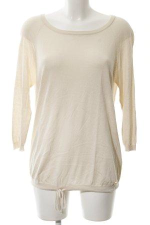 Woolrich Maglione girocollo beige chiaro stile semplice