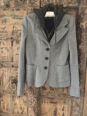 Woolrich Blazer de lana gris claro-gris