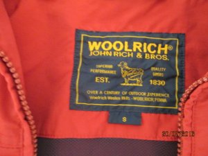 Woolrich Giacca rosso