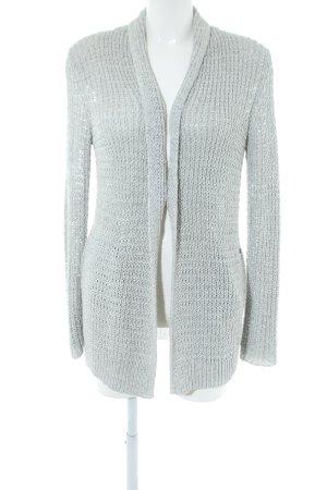 Woolrich Cardigan tricotés gris clair torsades style d'affaires