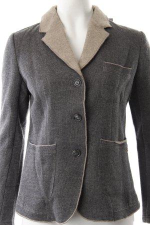 Woolrich Blazer en maille tricotée gris anthracite