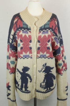 Woolrich Norwegian Cardigan multicolored wool