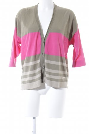 Woolrich Cardigan light brown-magenta casual look
