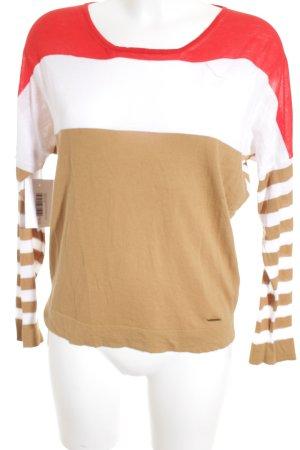 Woolrich Cardigan striped pattern casual look