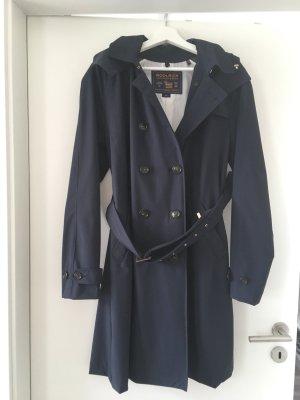 Woolrich Trench Coat in dunkelblau Gr. XL Top Zustand