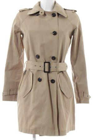 Woolrich Trenchcoat beige klassieke stijl