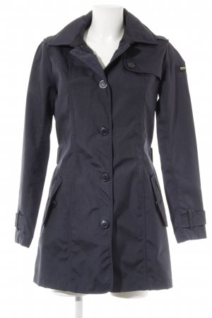 Woolrich Trench blu scuro stile casual
