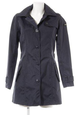 Woolrich Trenchcoat bleu foncé style décontracté
