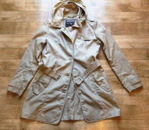 Woolrich Trenchcoat * Gold beige* Wasserabweisend