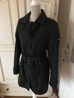 Woolrich Trenchcoat in schwarz Top Zustand