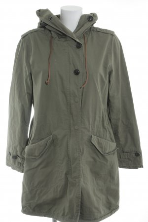 Woolrich Trench cachi stile militare