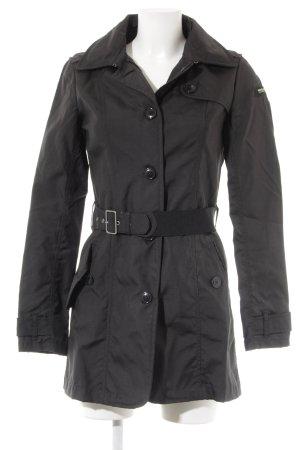Woolrich Trenchcoat schwarz Casual-Look