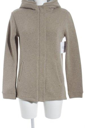 Woolrich Übergangsjacke hellbraun Street-Fashion-Look