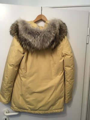 Woolrich Down Coat dark yellow