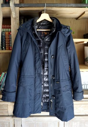 Woolrich Down Coat blue-black