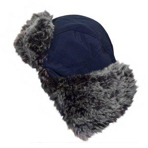 Woolrich Hoed donkerblauw-antraciet