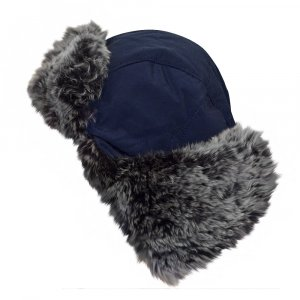 Woolrich Hat dark blue-anthracite