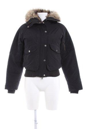 Woolrich Veste d'hiver noir style décontracté