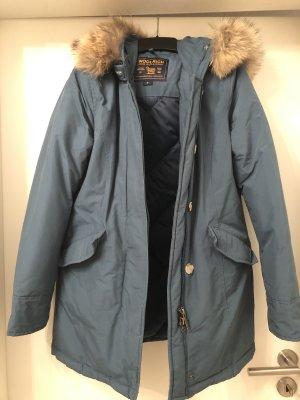 Woolrich Veste d'hiver bleu pétrole