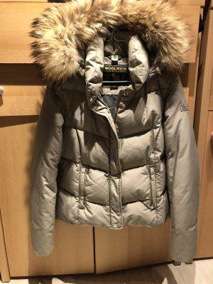 Woolrich Veste d'hiver gris brun-gris clair
