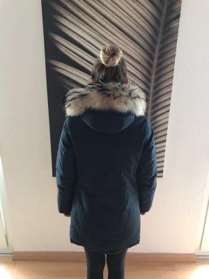 Woolrich Winterjacke mit Echtpelz