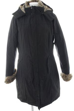 Woolrich Winterjacke schwarz-camel Casual-Look