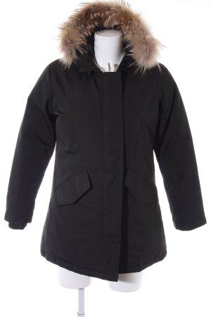 Woolrich Chaqueta de invierno negro look casual