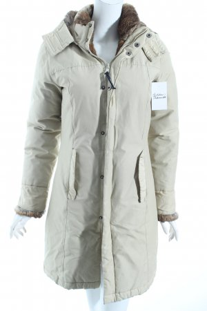 Woolrich Wintermantel hellbeige klassischer Stil