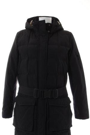 Woolrich Winterjas zwart casual uitstraling