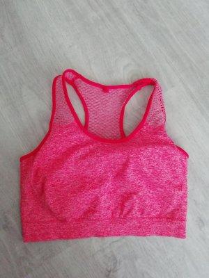 Workout Sporttop cropped Croptop Sport-BH BH Bra Bustier