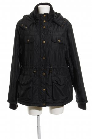 World of wissmach Kapuzenjacke schwarz Casual-Look