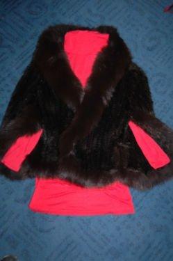 Pelt Coat black brown