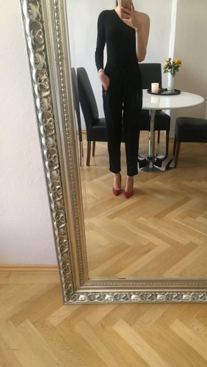 Zara Jeggings nero-oro