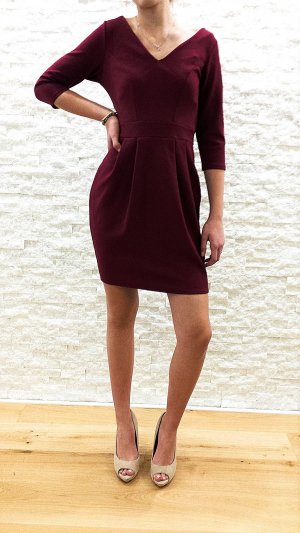 Closet Midi Dress carmine mixture fibre