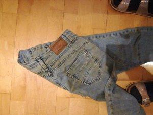 wow..... please jeans im Schmutz Look