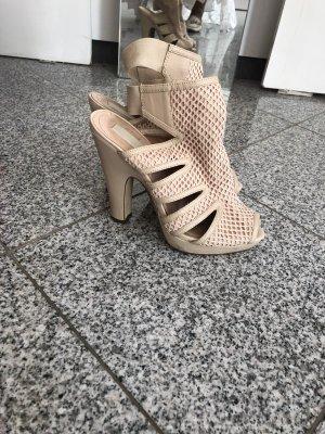 H&M Conscious Collection Chaussure à talons carrés rosé