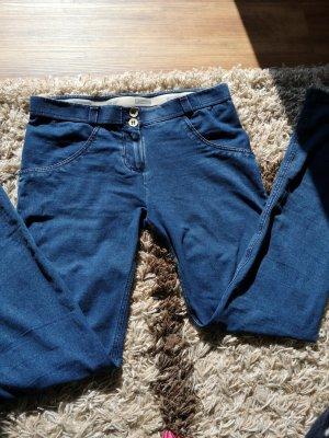 WR.UP® Denim - Low Waist Skinny - Dark Denim-Blue Seam