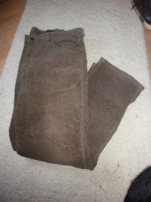 Wrangler Pantalon en velours côtelé multicolore coton