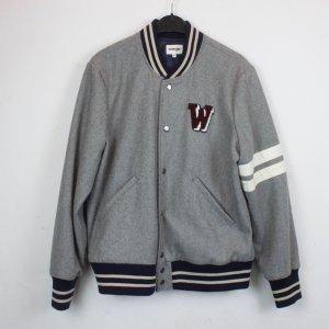 Wrangler College Jacket grey-dark blue mixture fibre