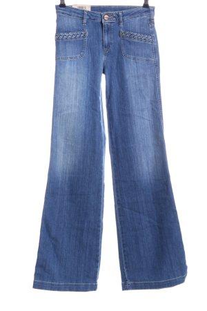 Wrangler Jeans svasati blu stile casual
