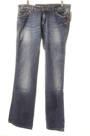 Wrangler Boot Cut Jeans blau Jeans-Optik