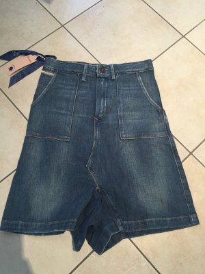 Wrangler Gonna culotte blu acciaio Denim