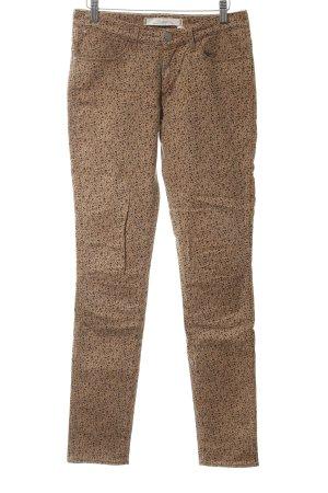 Wrangler Pantalón de cinco bolsillos marrón claro-negro estilo extravagante