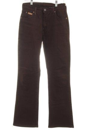 """Wrangler Pantalon cinq poches """"Tina 11"""" brun foncé"""