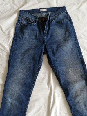 Wrangler High Waist Jeans azure cotton