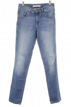 Wrangler High Waist Jeans cornflower blue casual look