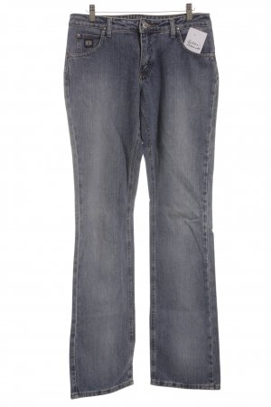 Wrangler Hüftjeans blassblau Washed-Optik