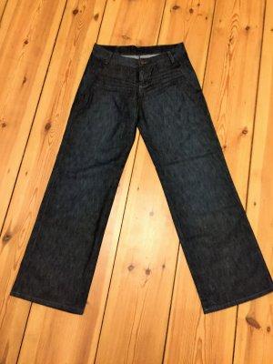 Wrangler Marlene jeans donkerblauw Katoen