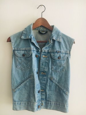 Wrangler Veste en jean bleuet